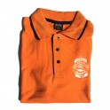 Polo TKC bicouleur orange